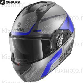 Шлем Shark Evo-GT Encke, Серо-синий