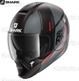 Шлем Shark Evojet Vyda Mat, Черно-красный