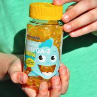 Trippel Omega-3 Barn Тройная Омега для детей,120 капсул