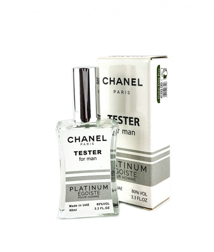 Chanel Egoiste Platinum (for man) - TESTER 60 мл