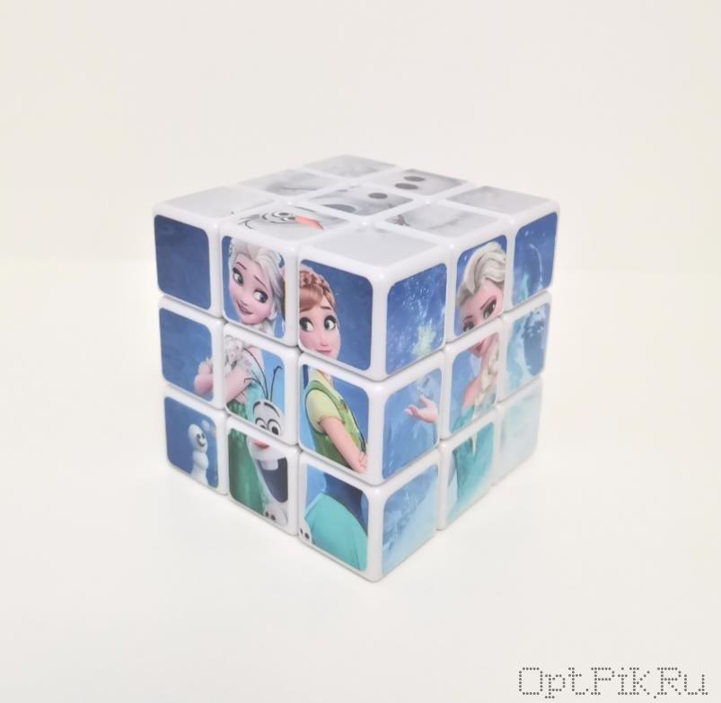 Кубик Рубика 3*3 Холодное сердце
