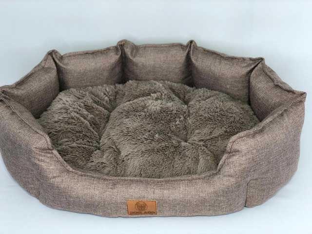 Лежанка 60x56x21 см Марсель серый