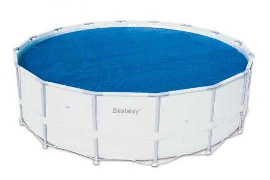 Теплосберегающее покрытие Bestway 58241 для бассейнов 3.05 м (D289 см)