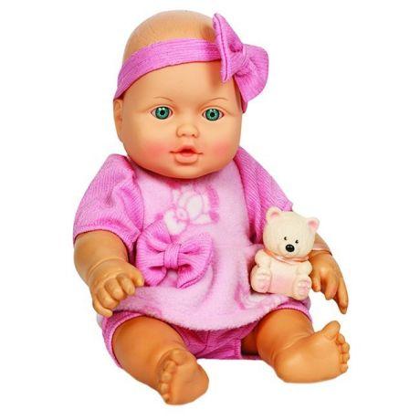 Малышка с мишуткой