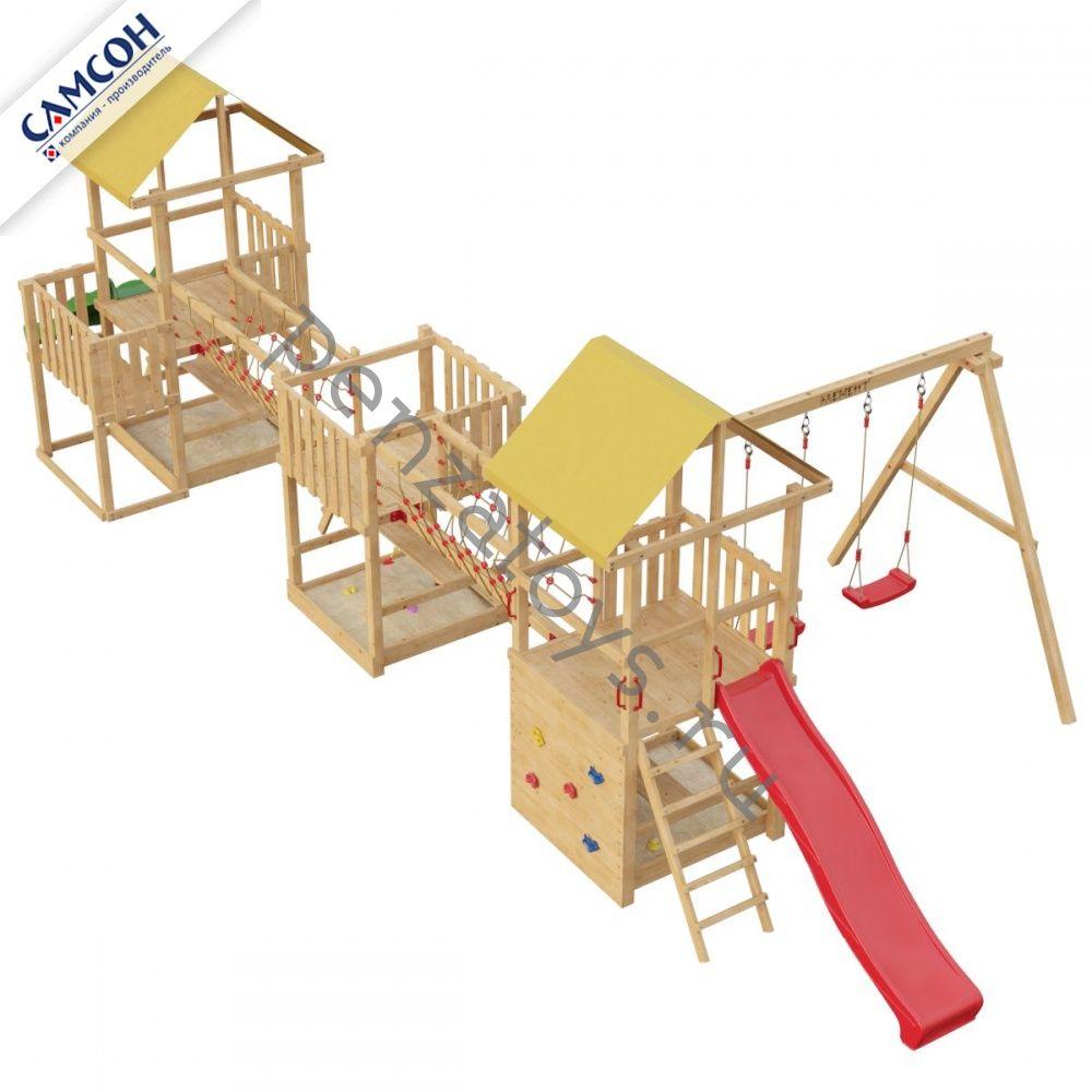 Игровая детская площадка Сет 6-1-2Б Элемент