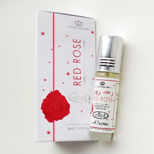 Арабские масляные духи Red Rose | Красная роза | 6 мл | Al-Rehab | Женский