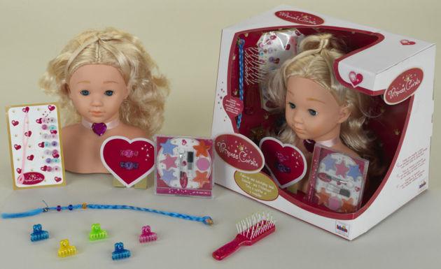 Манекен для макияжа и причесок klein princess coralie 5236