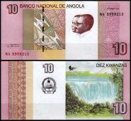 Ангола - 10 Кванза 2012 UNC