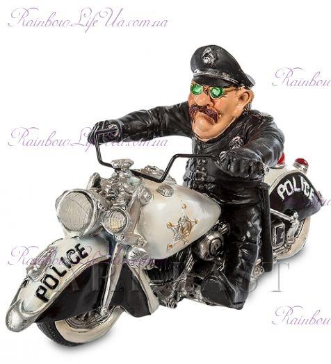 """Статуэтка полицейский байкер """"W.Stratford"""""""