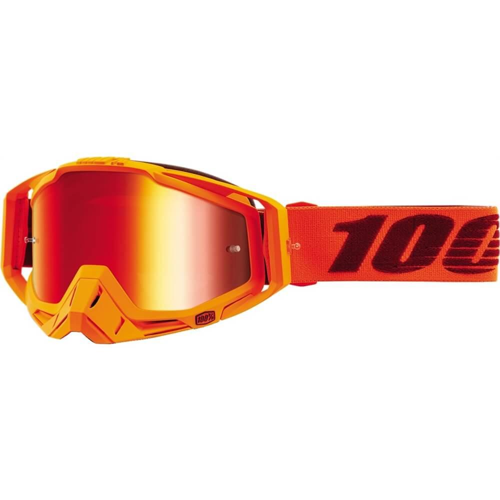 100% - Racecraft Menlo Mirror Lens, очки, зеркальная линза