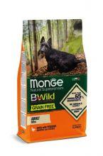Monge Dog GRAIN FREE беззерновой корм для собак мелких пород утка c картофелем 2,5 кг