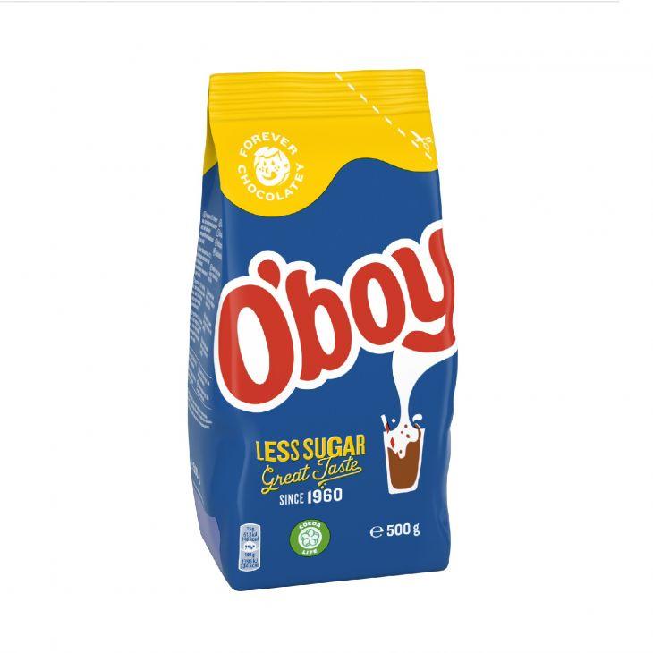 O'Boy Cocoa Drink Powder Less Sugar 500 g