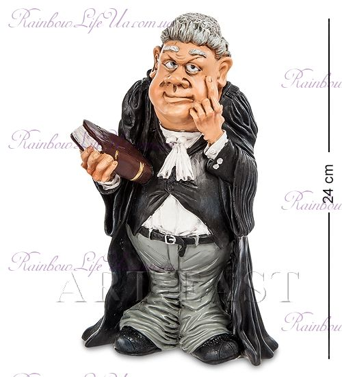 """Статуэтка судья """"W.Stratford"""""""
