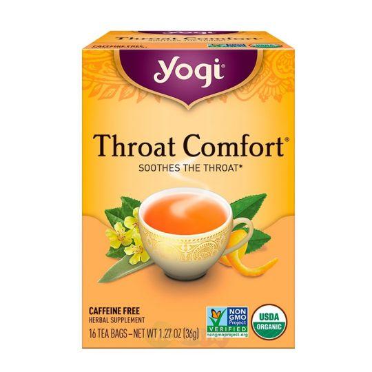 Yogi Tea Здоровое Горло, 16 пакетиков