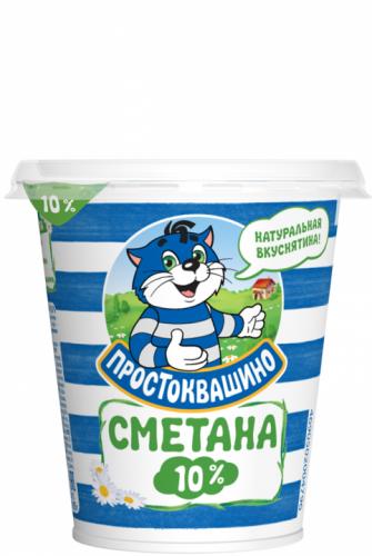 Сметана Простоквашино 15% 315 г
