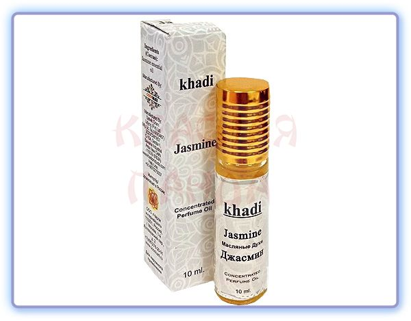 Масляные духи Khadi Jasmine Concentrated Perfume Oil