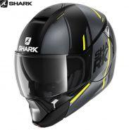 Шлем Shark Evojet Vyda Mat, Черно-Желтый