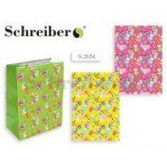 Пакет подарочный бумажный МИШКИ, 32х26х12 см, 3 расцветки в ассортименте