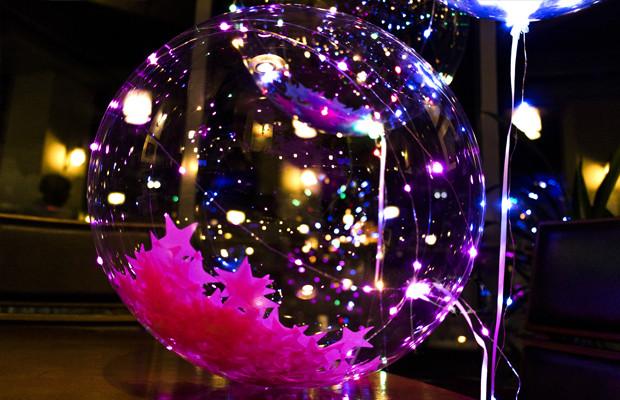 Светящийся led шар BOBO круглый с наполнителем