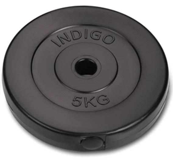 Диск пластиковый INDIGO IN123 d26мм 5кг