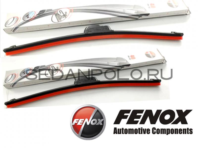 Щетки стеклоочистителя комплект Fenox комплект