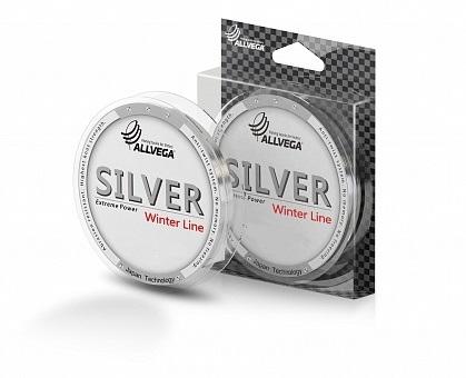 Леска Allvega Silver 0.14мм (50м) (2,7кг) (серебристая)