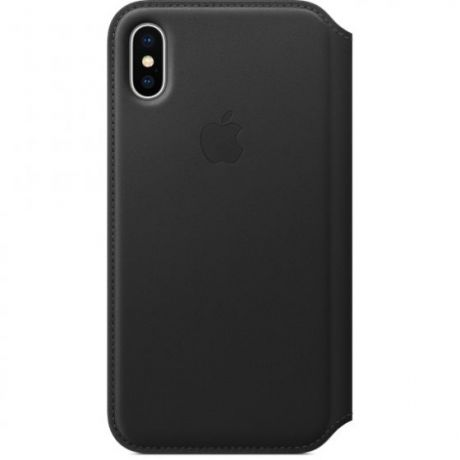 Чехол книжка iPhone X/Xs Apple Leather Smart Case