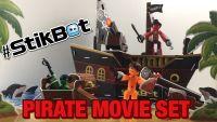 Анимационная студия Стикбот (Stikbot) пиратский корабль