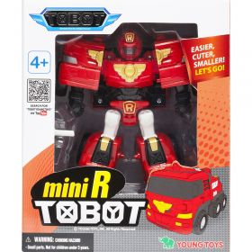 Трансформер Тобот (Мини R (красный)пожарная машина)