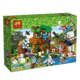 """Конструктор Lele 33163 Minecraft """"Гора персонажей"""""""
