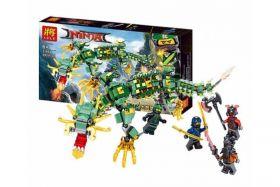 Конструктор Ninjago Механический дракон зеленого Ниндзя