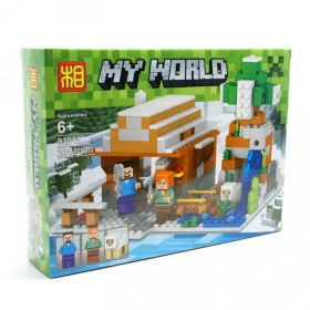 Конструктор Minecraft Зимний домик