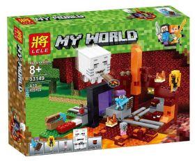 Конструктор Minecraft Портал в Подземелье