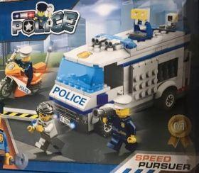 Конструктор City Полицейский транспорт