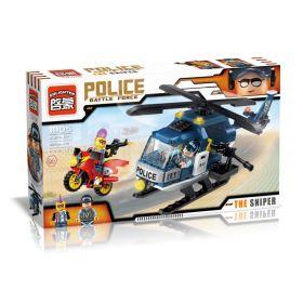 Конструктор Police Полицейский вертолет