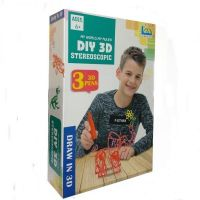 Набор 3D ручек DIY 3D stereoscopic (3 цвета)