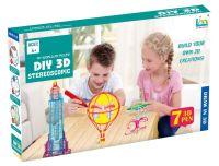 набор 3d ручек diy 3d stereoscopic (7 цветов)