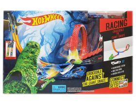 Игровой набор Атака крокодила и кобры (Хот Вилс)