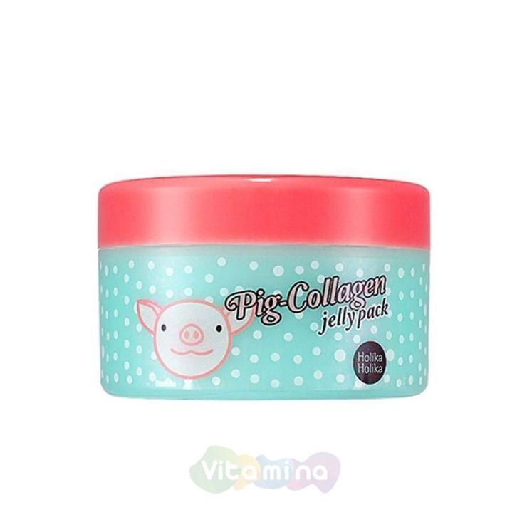 Holika Holika Ночная коллагеновая маска Pig-Collagen Jelly Pack
