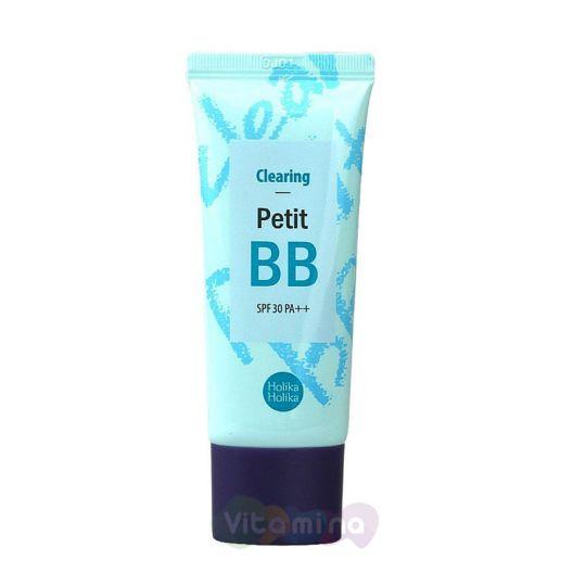 Holika Holika ББ-крем для жирной и проблемной кожи Petit BB Clearing SPF30 PA++