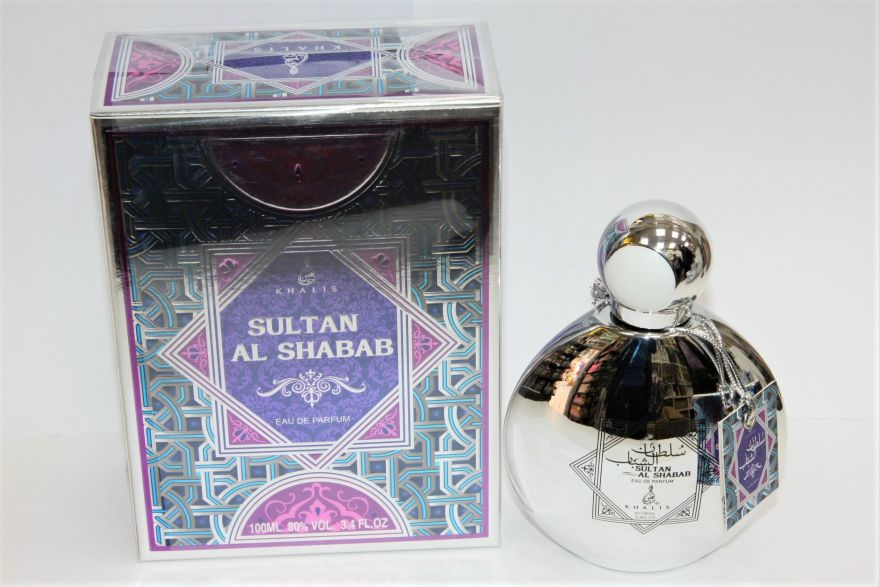 "Парфюмерная вода Khalis ""Sultan Al Shabaab"" Унисекс 100 ml"