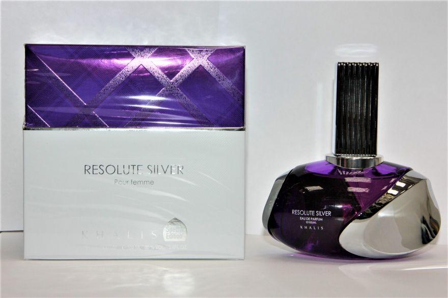 """Парфюмерная вода Khalis """"Resolute Silver"""" pour Femme 100 ml"""