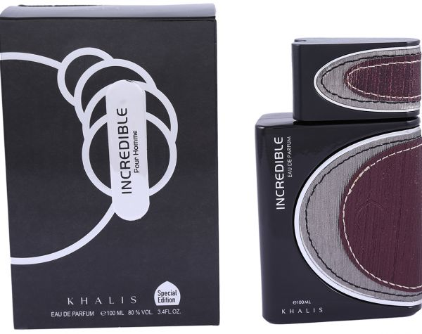 "Парфюмерная вода Khalis ""Incredible"" pour Homme 100 ml"