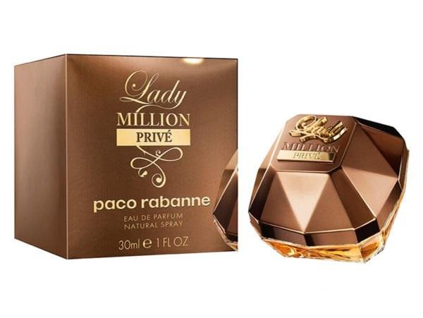 Парфюмерная вода Paco Rabanne Lady Million Prive 80 мл