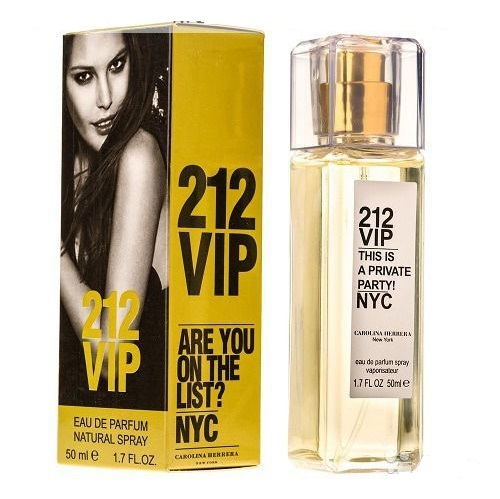 Carolina Herrera 212 VIP eau de parfum 50ml (суперстойкий)