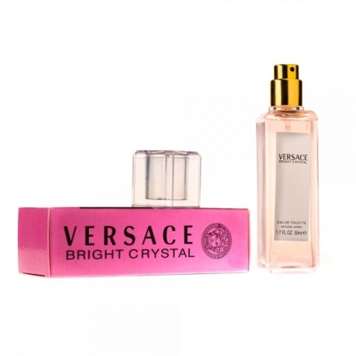 VERSACE BRIGHT CRYSTAL EAU DE TOILETTE 50ML (СУПЕРСТОЙКИЙ)
