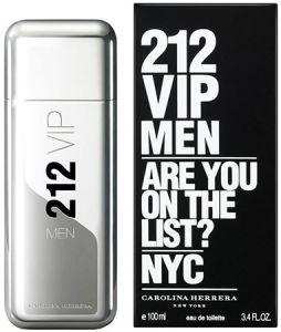 "Туалетная вода Carolina Herrera ""212 VIP Men"", 100 ml"