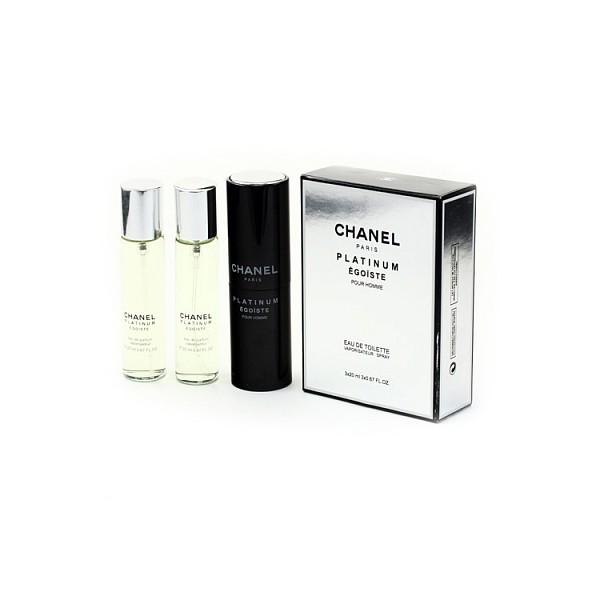 Chanel Egoiste Platinum 3х20 ml