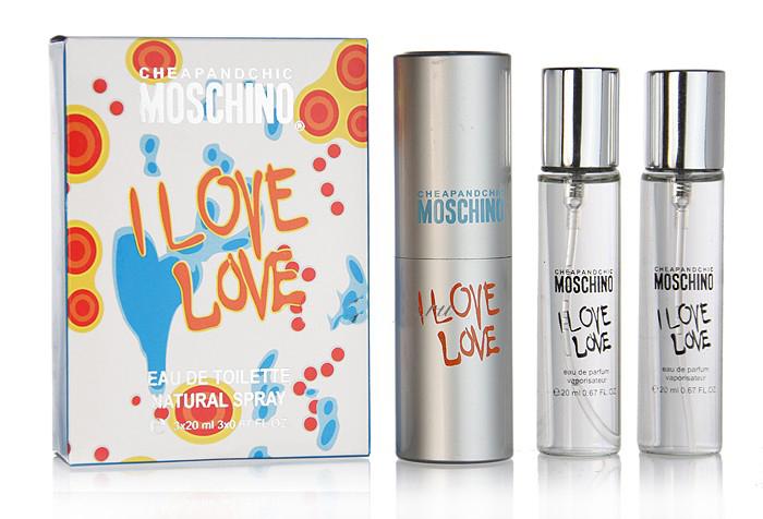 "Туалетная вода Moschino ""I Love Love"", 3x20 ml ?"