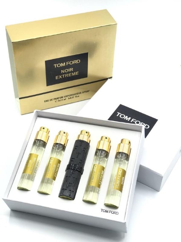"""Набор парфюма  Tom Ford """" Noir Exreme"""" 5х11мл"""